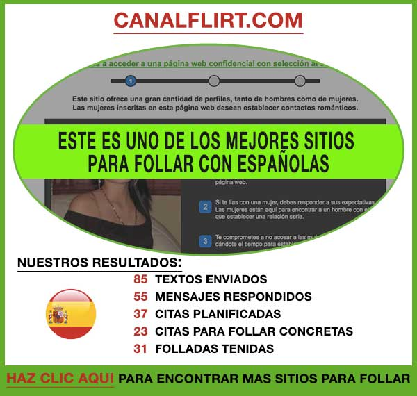 Vista Previa de CanalFlirt España