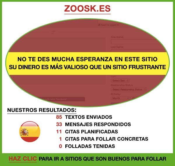 Vista Previa de Zoosk España