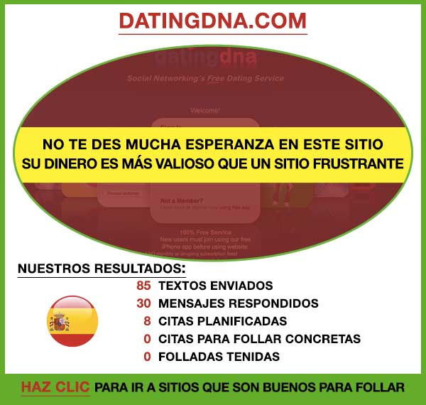 Vista Previa de DatingDNA España
